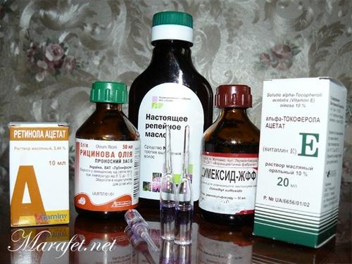 Маски с витаминов в домашних условиях для волос