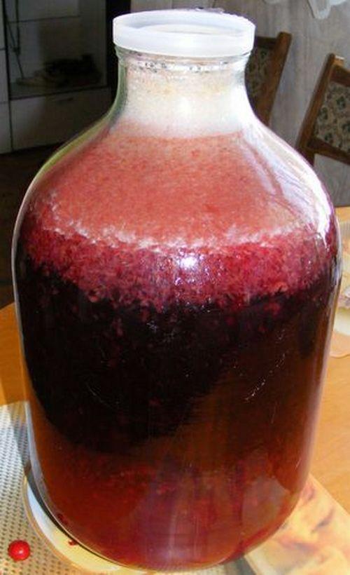 Вкусное Домашнее Вино Из Вишни Без Закваски Рецепт
